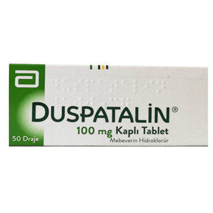 Picture of Duspatalin 100mg 50 Coated Tabs