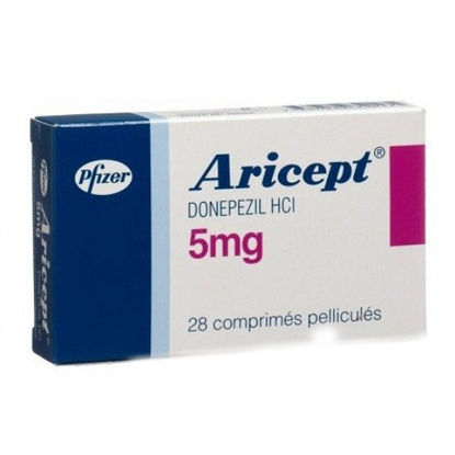 Picture of Aricept 5mg 28 Tablet