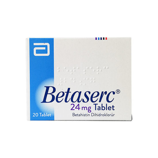 Picture of Betaserc 24mg  20 Tablet