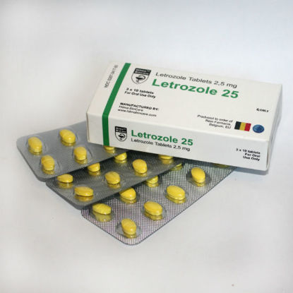 Picture of Letrozole 25 (Femara) 2,5mg 30Tabs