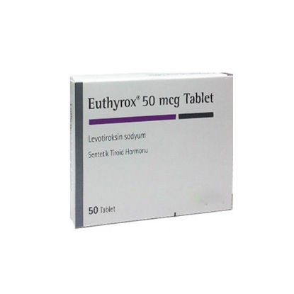 Picture of Euthyrox 50mcg 50 Tab